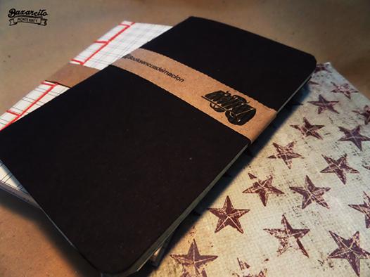 libretas de bolsillo y cuadernos realizados a mano por BooKS encuadernacion artistica
